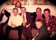Bill Mumy, Jack Kirby, Jerry Siegel, Bob Kane, Mark Hamill, Miguel Ferrer, 1987