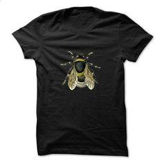 Vintage Bee Illustration - #t shirt designer #t shirts for sale. MORE INFO => https://www.sunfrog.com/No-Category/Vintage-Bee-Illustration.html?id=60505