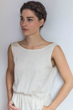 d3c5f1f5c2 Zoé Girard is a Montreal-based textile student and seamstress who creates  comfortable-wear for her independent brand