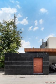 House Redesigned With A Monochromatic And Minimalist Language | Saransh Architects - The Architects Diary