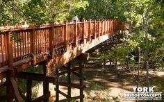 Timber Trail Bridge: Tunica-Biloxi Nature Trail - Marksville, LA