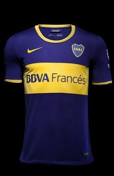 e148152bbb preciosa camiseta Boca Juniors Nike Home Shirts 2013 14 Seleção Do Mundo