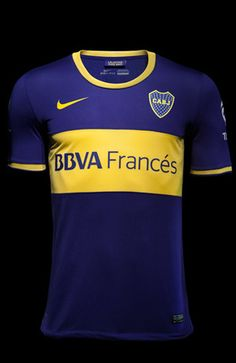 preciosa camiseta Boca Juniors Nike Home Shirts 2013/14
