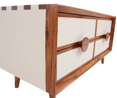 Chaar Chauras - Midi: Console / Cabinet, Solid Wood, Teak Wood, Modern furniture, for Commercial, Residential, Bed Room, Dining, Home office, Living Room, Study Room