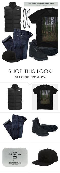 """""""Men's Fashion - Wanderlast"""" by by-jwp ❤ liked on Polyvore featuring The North Face, 7 For All Mankind, Timberland, Men's Society, Billabong, Persol, men's fashion and menswear"""