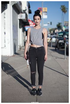 Joanna in Los Angeles Street Style Portrait | Streetgeist.com
