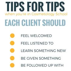 The Keys to Earning Tips as a Cosmetology Student