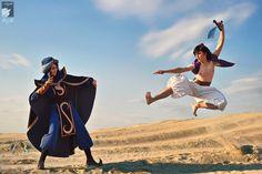 Photo of Mozenrath vs. Aladdin for fans of Disney Villains. Aladdin Cosplay, Disney Cosplay, Anime Cosplay, Dark Disney, Disney Love, Aladdin Tv Series, Aladdin Art, Best Cosplay Ever, Aladdin And Jasmine