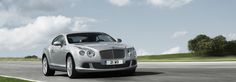 Bentley Continental GT, front view