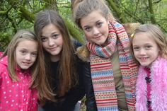 the tomlinson sisters. They look so much like Louis.  <3