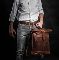 Roll Top Backpack by Kruk Garage | Jetset Times SHOP
