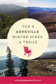 Hiking enthusiasts and nature lovers can bring along the trail running shoes or hiking boots because hiking is a sport in our beautiful mountains. Blue Ridge Mountains, Nc Mountains, Ashville North Carolina, Ashville Nc, Catawba Falls, Mountain Vacations, Winter Hiking, Best Hikes, Adventure Is Out There