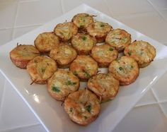 Egg Foo Young Bites (aka Crustless Quiche) #holiday #party #appetizers #weightlosstips