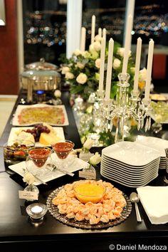 Elegant Buffet Table