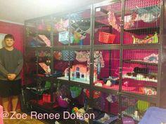 Amazing cage set up!