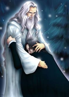 Albus Dumbledore and Severus Snape- this is actually kinda sad, even if it is out of character