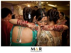 Overwhelmed of feelings. #indian bride #indian wedding #crying #happy tears #love #friendship