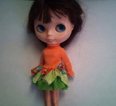 Bunny Rabbit's Dream OOAK Carrot Dress by RainbowDaisies on Etsy