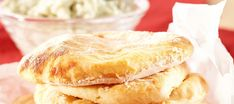 Helpot perunarieskat   Suolaiset leivonnaiset   Reseptit – K-Ruoka Savoury Baking, Hot Dog Buns, Crackers, Camembert Cheese, Pancakes, Food And Drink, Meals, Breakfast, Ethnic Recipes