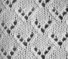 point tricot semaine 07