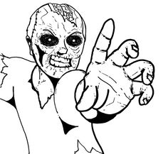 84 Best Zombie Coloring Images In 2019 Drawings Coloring Book