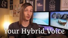 How to Get Better at Writing & Find Your Hybrid Voice http://seanwes.tv/79