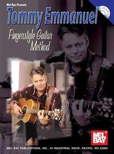 Tommy Emmanuel Fingerstyle Guitar Method (Book/CD Set)