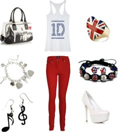 """""""One Direction Look"""" by princesslexi10 on Polyvore"""