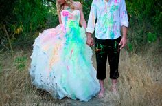 20 Awesome Trash the Dress #Wedding Photos. Will you trash your dress?