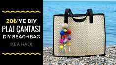 Sadece 20₺'ye Hasır Çanta / DIY Straw Bag  (Eng Sub)