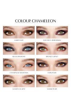 Charlotte Tilbury 'Color Chameleon' Color Morphing Eyeshadow Pencil in Amethyst Aphrodisiac availabl. Eye Makeup Steps, Eyebrow Makeup, Hair Makeup, Makeup Eyes, Hazel Eye Makeup, Under Eye Makeup, Monolid Makeup, Makeup Over 50, Eyeshadow For Blue Eyes