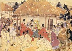 8 momentos de la vida de Cristo con la Virgen María, dibujados con ojos coreanos en tiempos duros - ReL