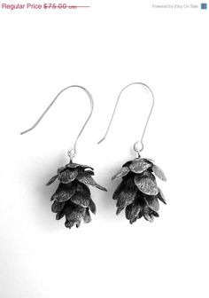 Pine Cone Earrings @Molly Morris?