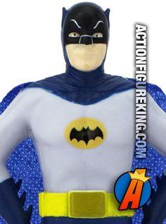 NJ Croce 5.5-inch bendable Batman figure based on the classic 1966 television series starring Adam West. #batman #adamwest #classicbatman