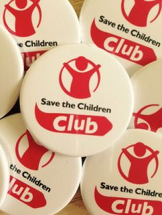 Save the children badges