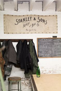 Stanley  Sons Studio Tour | Old Faithful Shop