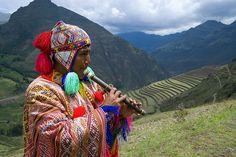 Musician near Urumbamba http://marcoslocaladventures.com/