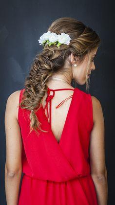-- Messy World --  Pink hair, braid, fashion show, braids, updo, hairstyle, hairstyles, body chain, vintage hair, messy hair, messy braid, vintage updo, bow hairstyle, fishtail braid, dutch braid, french braid