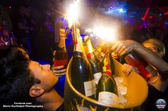Get ready for a rowdy weekend at Rumor in Philadelphia, PA. That is a fantastic bucket of Bottle Sparklers, Small Fountains, Philadelphia Pa, Spice Things Up, Night Club, Champagne, Cocktails, Bucket, Party