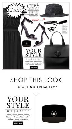 """Classic Black"" by lucky-1990 ❤ liked on Polyvore featuring Pussycat and Chanel"