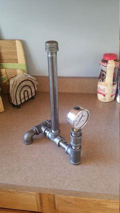 Steampunk gauge paper towel holder  Industrial by RuralIndustrial