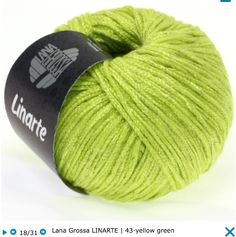 Lana Grossa Linarte Trendy cotton/linen classics, 40% viscose, 30% cotton, 20% linen, 10% polyamide, RL = approx 137yd/125m/50g/1 all, knitting needles size 4 - 4,5