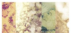 love the feel of these vintage wallpapers . Vintage Style Wallpaper, Vintage Wallpapers, Textures Patterns, Retro Vintage, Vintage Fashion, Walls, Ceiling, Posters, Floor