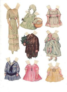 Unidentified Paper Dolls 3. | Flickr - Photo Sharing!