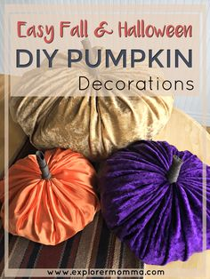 There's a chill in the air. For me that means I dive into fall, my favorite season. Try this Easy DIY Pumpkin Decor project with the entire family! Decorate with pumpkins and fun! Autumn Activities For Kids, Crafts For Kids, Easy Crafts, Pumpkin Decorating, Fall Decorating, Fall Projects, Diy Projects, House Projects, Diy Pumpkin