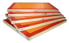 Silk Screen Printing Frame 32/43T/55T/77T/90T/120T mesh Textiles Wooden A5 A4 A3