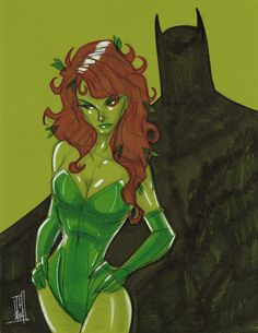 Poison Ivy by Tom Hodges
