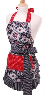 Vintage Apron for Valentine's - way cute