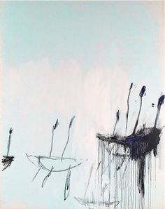 Cy Twombly  Three studies from the Temeraire - Part 1