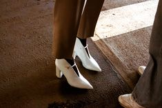 White Heels, Character Shoes, Dance Shoes, Fashion, Moda, La Mode, Dancing Shoes, Fasion, Fashion Models
